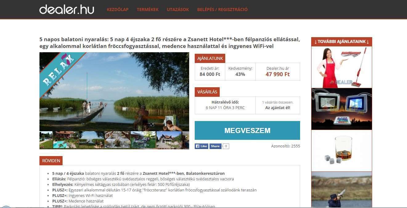 Újradizájnoltuk a dealer.hu weboldalt. Az eredmény egy gyönyörű, egységes, reszponzív weboldal lett.